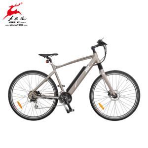 700C Al Alloy Rear Motor Light MTB Electric Bicycle