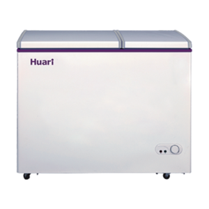 Huari BCD-193LDC 193L double temperature fridge and freezer home use chest freezer