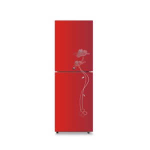 Huari BCD-276LYE 276L direct cooling wide glass double door refrigerator