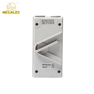 Factory Cheap Price Single Pole 250V IP56 Waterproof 35A Isolator Switch