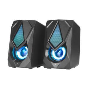 XTRIKE RGB lightning 2.0 wired stereo speakers