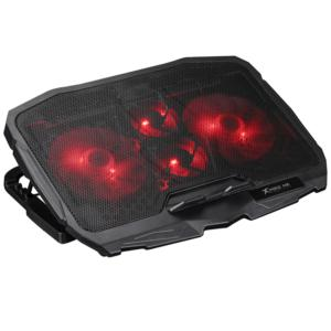 XTRIKE Laptop powerful cooling fan with LED light