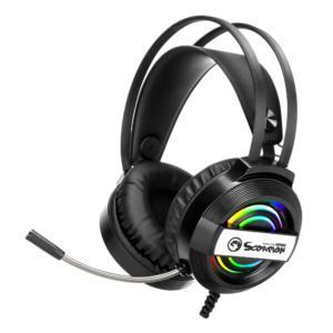 MARVO Luminous headset for gaming wired headphones