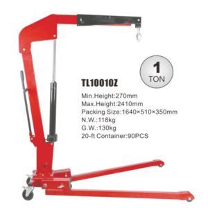 1 ton professional foldable shop crane