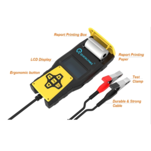 vehicle battery tester