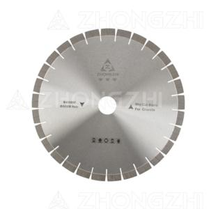 Brazed blade for Granite  with array pattern segments  (Silence or Non-silence)