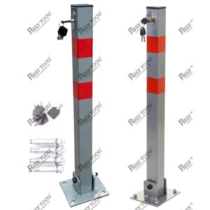 Folding Parking Post Barrier