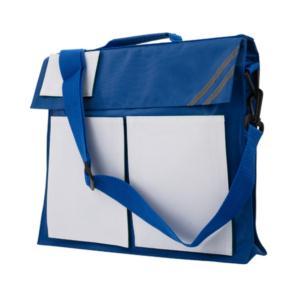 Business handbag w/ Velcro