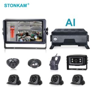 Intelligent 8CH HD MDVR Integrated with AVS System for Driving Safety