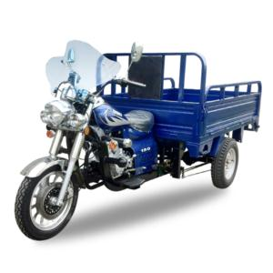 Gasoline engine tricycle