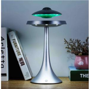 Levitating UFO Bluetooth speaker with LED table lamp
