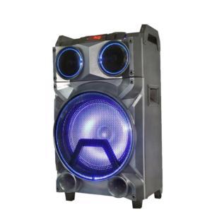 12 inch wodden speaker wireless portable trolley speaker SP-1238D