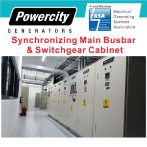Synchronizing Main Busbar&Distributing Switchgear Cabinet