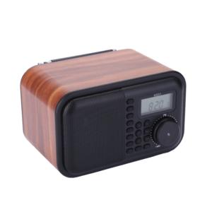 Wooden Portable Radio