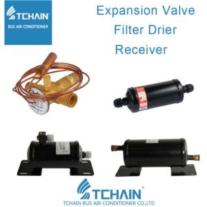 A/C Expansion Valve Receiver Filter Drier Bus Air Conditioner buses Air Conditioning Spare Parts