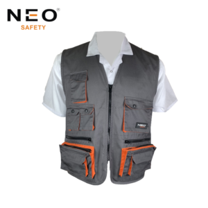 Europe Hot Sell Mens Polycotton Working Vest