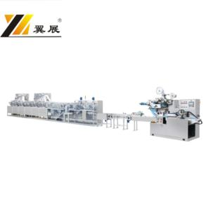 YZCD-1828 Full Automatic wet tissue machine