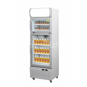 Multi temperature cabinet warmer& cooler
