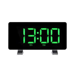 Most Popular Adjustable Brightness LED Display Smart Table Alarm Clock FM Radio