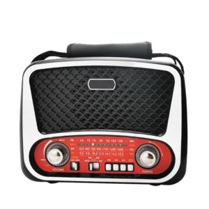 Good Sound Quality Retro Rechargeable AM FM SW 3 Band Home Radio With USB TF MP3 Music Player
