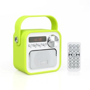High Quality 1800Mah Mini Portable Wireless Bluetooth Speaker With Remote Control
