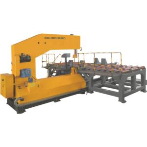 CROSS CUTTING VERTICAL METAL BAND SAW
