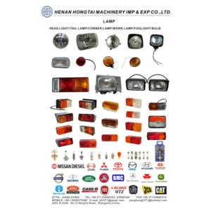 CAR LAMP & BODY PARTS