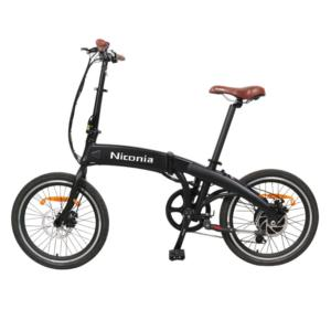 20inch electric folding bike with 10.4Ah battery