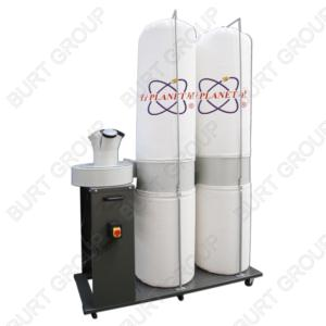 FM350L1 5HP DUST COLLECTOR WITH 500MM BAG DIAMETER