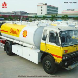 14 000L Aluminum Alloy Fuel Tank Truck