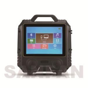 Portable multifunction wireless speaker with TV function