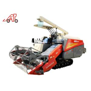 Longitudinal axial flow type whole feeding combine harvester for rice wheat and soybean