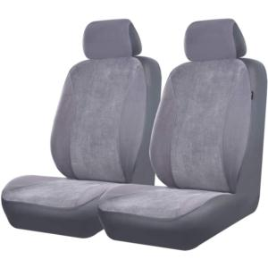 CAR SEAT COVER(6 pcs velour car seat cover front pair)