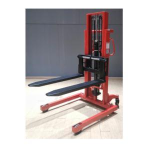 wide leg manual stacker