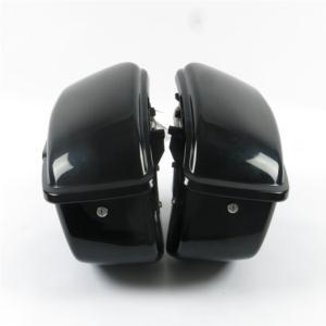 Hard Saddlebag Assembled Black for Harley Sportster 883 1200XL 1994-2003