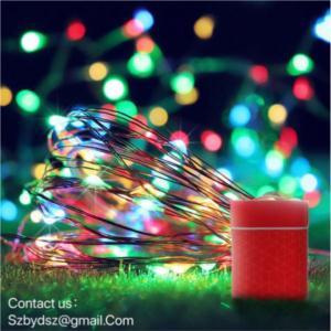 camping Christmas lights