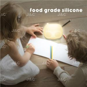 J&C LED Kids light KNL01/02  Radio& TV shape silicone lamp  nursery night light for baby color changing lamps for bedrooms gift pat light  with Touch Sensor  3*AA battery use or recargeable battery