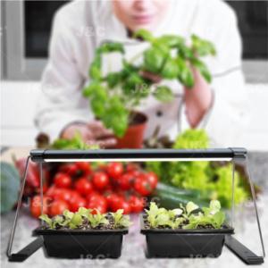 J&C MG-Norm-AC-14-white/black  grow light for seedling starter trays/green box/pot plants  easy installation small pack.