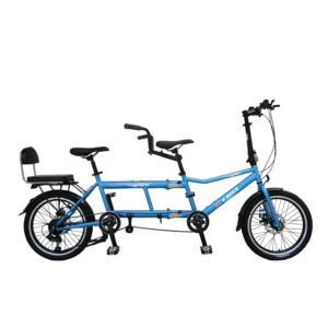 20inch steel tandem bike  foldable