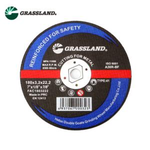 T42-180X3.2X22 7inch metal cutting and grinding discs wheel