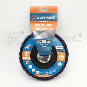 Colour CBS flat wheel ( X-lock)