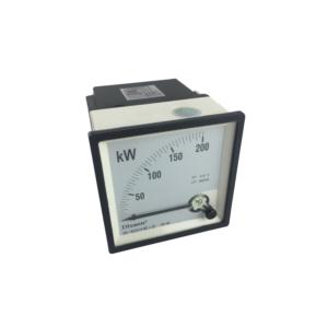 AC Moving Coil Panel Meters Rectangular Analog Power Meter 3p3w Or 3p4w