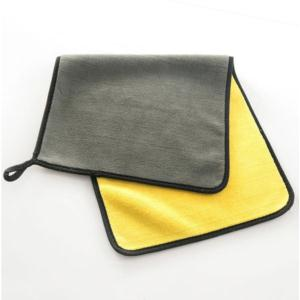 Hot sale super soft household cleaning cloth kitchen superfine fiber double sided microfiber towel Car Cleaning Care towel