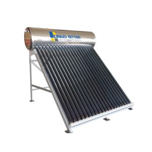 Non pressurized solar water heater stainless steel tank 200L