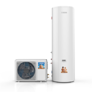 Air source heat pump water heater 1.5P inverter with 300L water tank