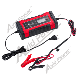 12/24V Lcd Screen Smart Battery Charger