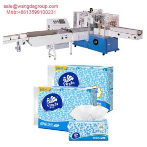Full Automatic Napkin Paper/Facial Tissue Soft Packing Machine