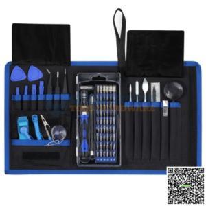 80 in 1 Professional Computer Repair Tool Kit Precision Laptop Screwdriver Set Anti-Static Wrist Repair Tool