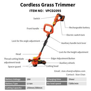 Cordless Grass Trimmer