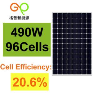 MONO 490W SOLAR PANEL
